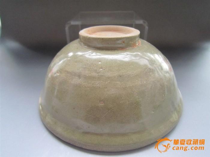元龙泉青瓷印花大碗