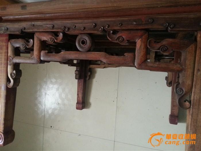 地摊 木器 其它 榉木小方桌  卖家: 信息: 中华古旧家具 待售图片