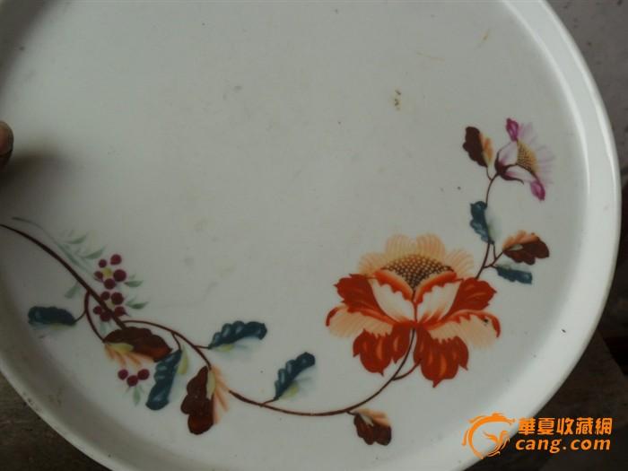 50年代手绘盘子