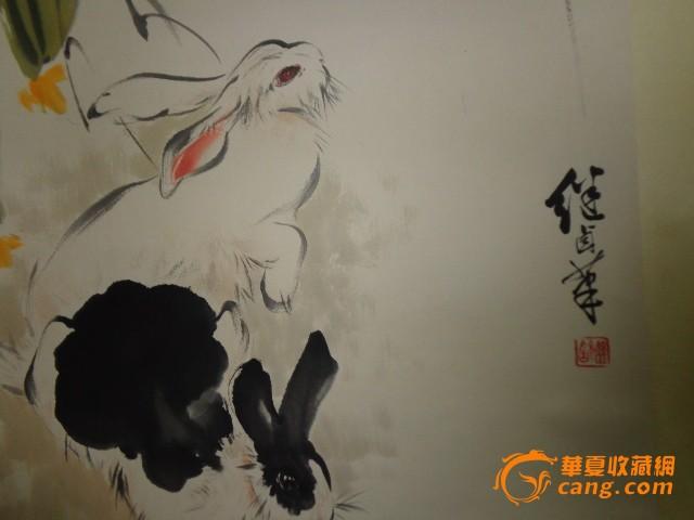 工笔白描,重彩,小写意,大写意俱能的画家,题材也非常全面,除人物,动物