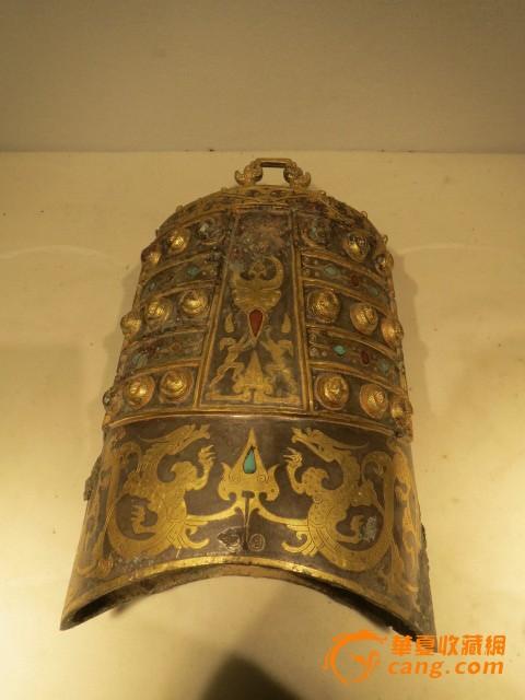 地摊 铜器 青铜 > 老鎏金编钟9个