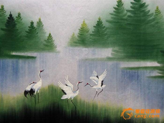 日本彩铅手绘风景画