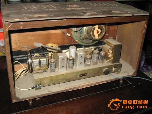 【西园收藏】文革时期红灯牌大型晶体管收音机(编号:1823)