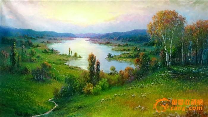 朝鲜油画_朝鲜油画价格_朝鲜油画图片_来自藏友秋天的