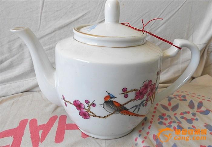 全品手绘文革茶壶