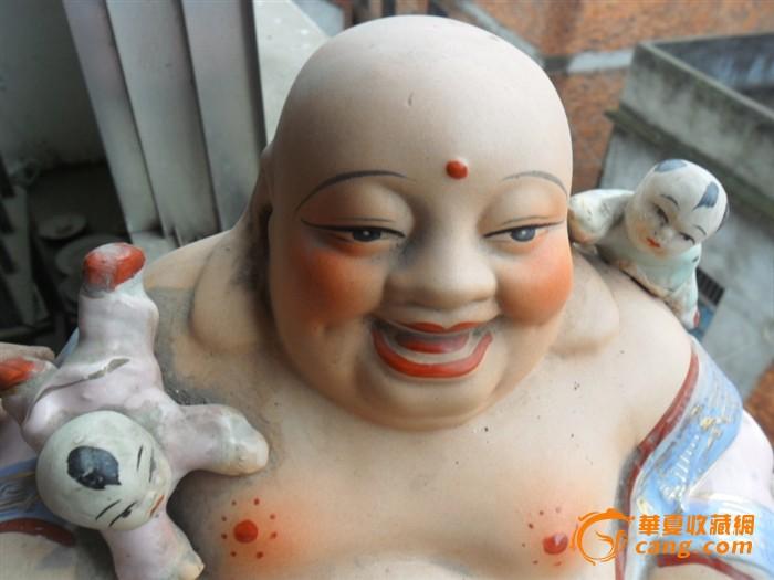 佛教小孩可爱笑面图片