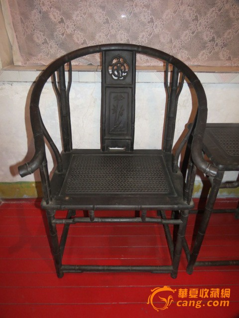 古代家具(椅子一套)