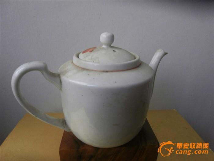 手绘大茶壶