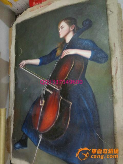 油画nu人体树林阳光1967年香港著名油画大师陈大为已故西洋油画