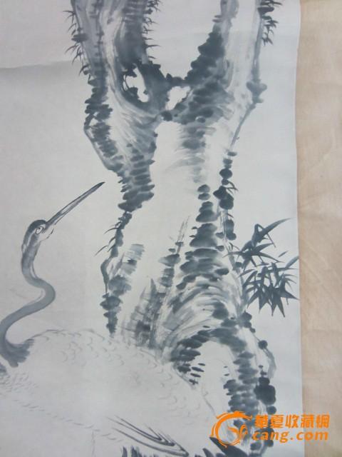 八大仙人鹤图片