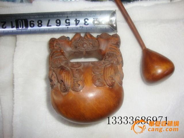 老包浆黄杨木手工雕刻