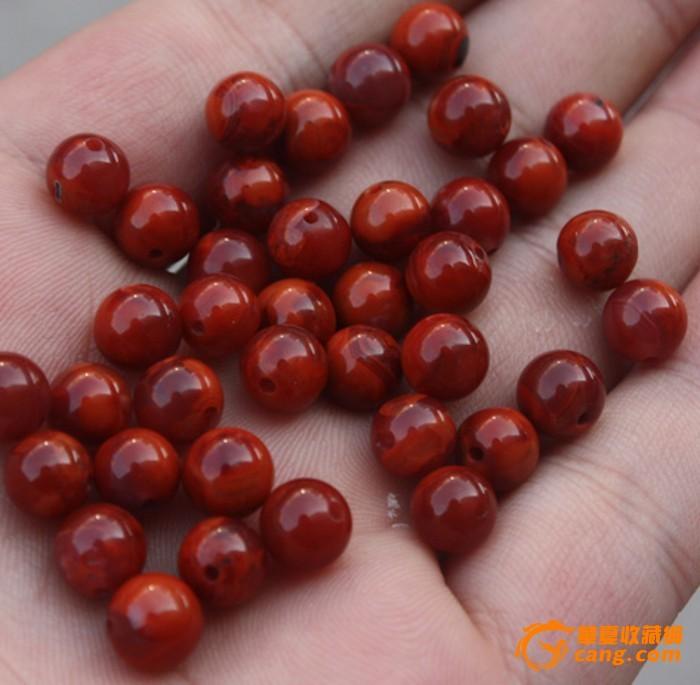 云南保山南红玛瑙柿子红玫瑰红火焰纹佛珠念珠