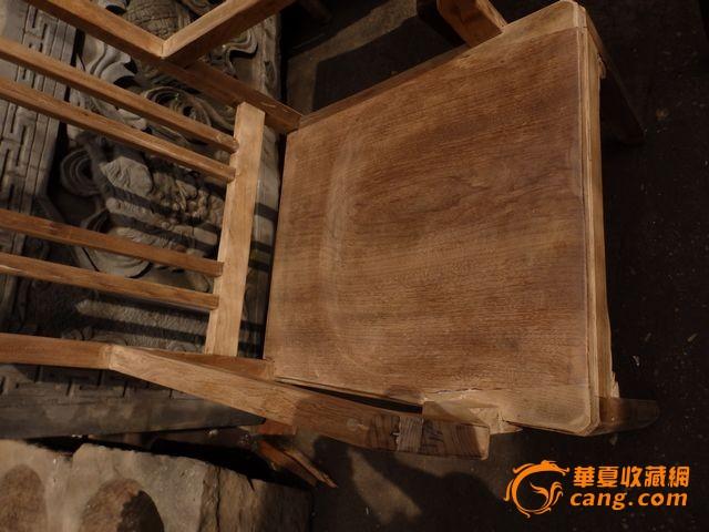 晚清,民国~金丝楠木~老家具一对楠木椅子