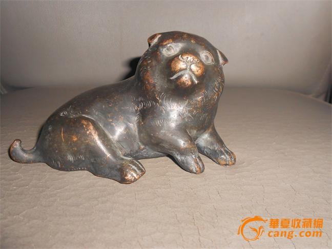 可爱的小熊铜镇纸摆件