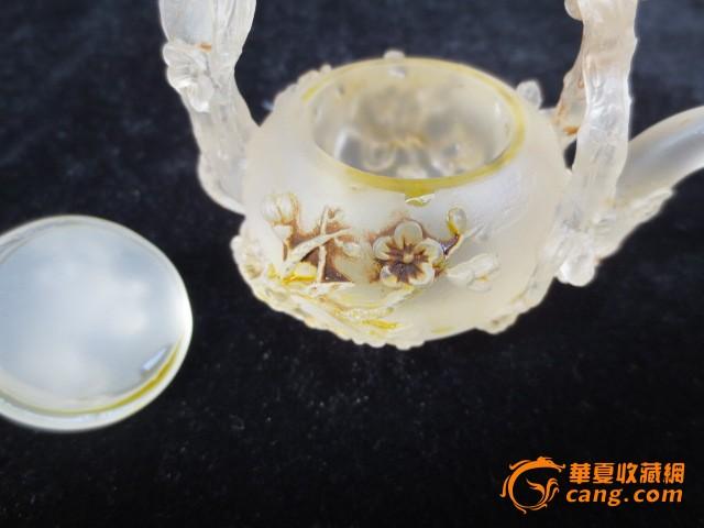 地摊 珠宝 水晶 > 水晶茶壶   显示上一幅图片 显示下一幅图片