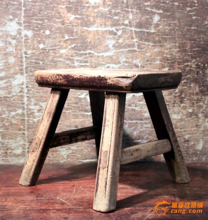 民国榉木小板凳