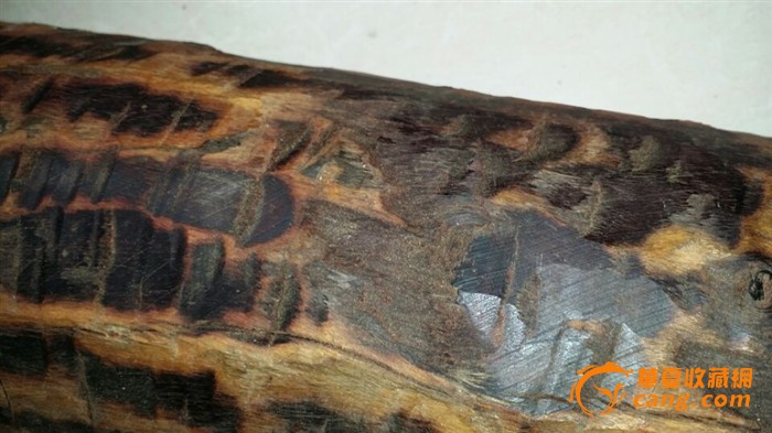 一根印度小叶紫檀木料图片