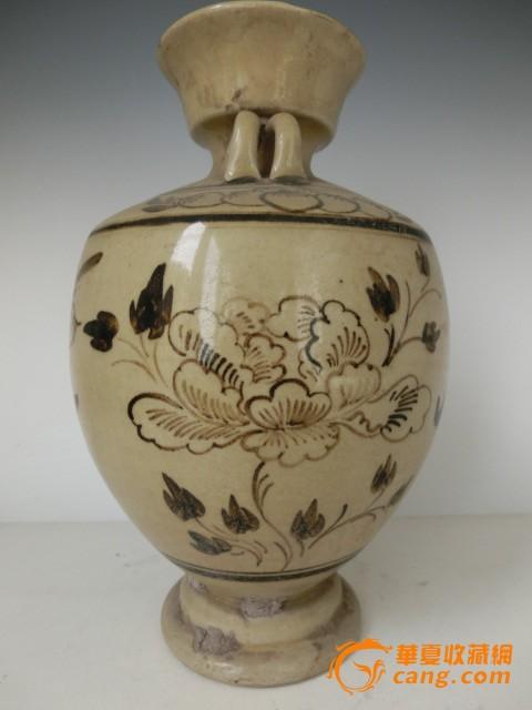 宋代瓷器图案手绘