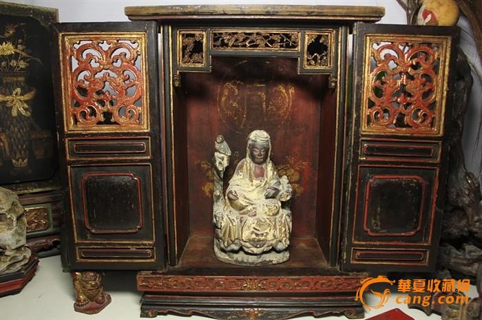 欧式雕花佛龛精品图