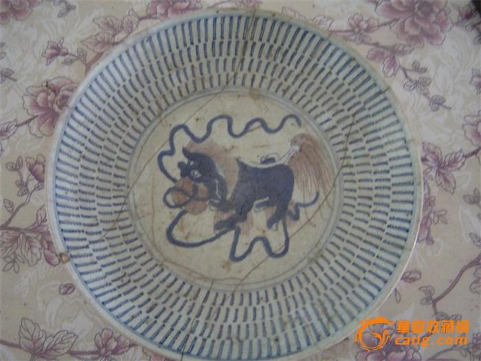 动物头像盘子画