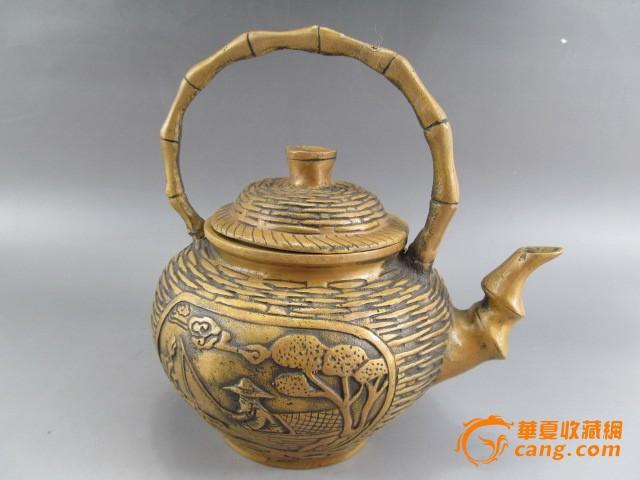 古代铜茶壶