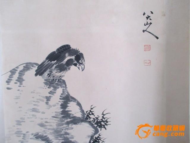 八大山人的鹰图片