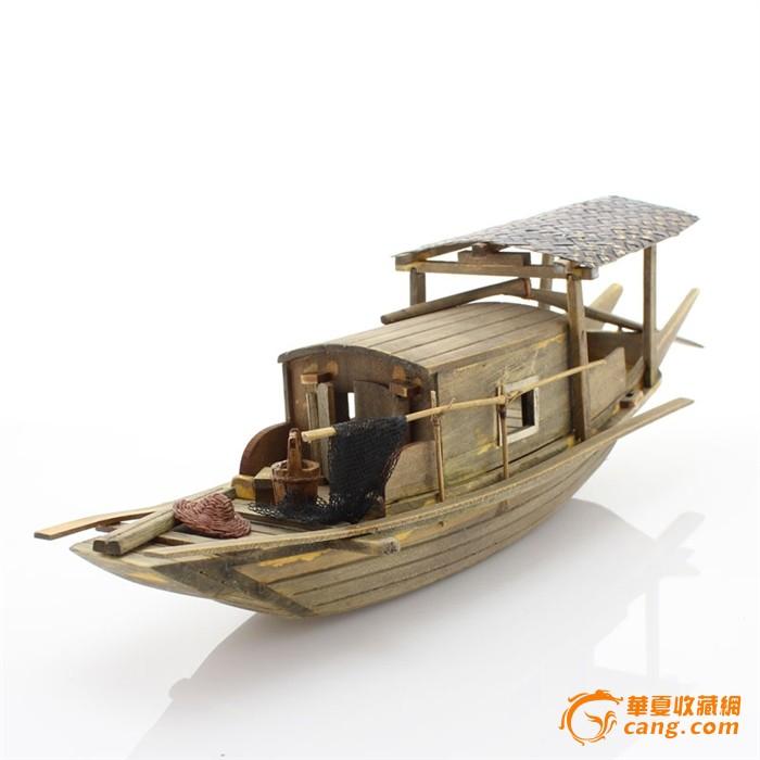 29135纯木制图纸船模☆江南木质手工乌篷船RCAD怎么水乡框中调用A4图片
