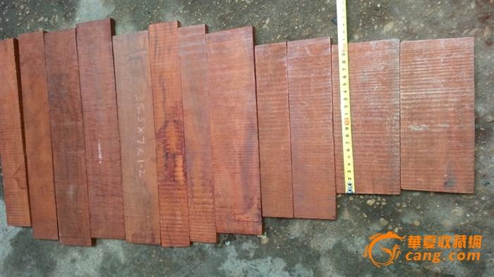 朋友要的印度小叶紫檀木料图片