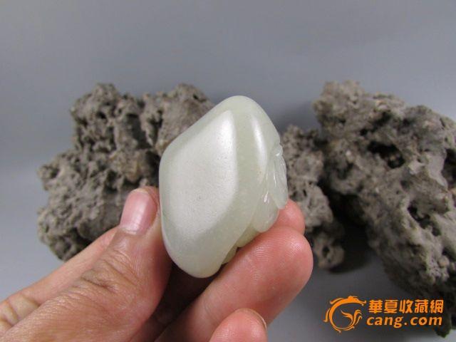 苏州/和田玉籽料苏州工招财金蟾挂件图5