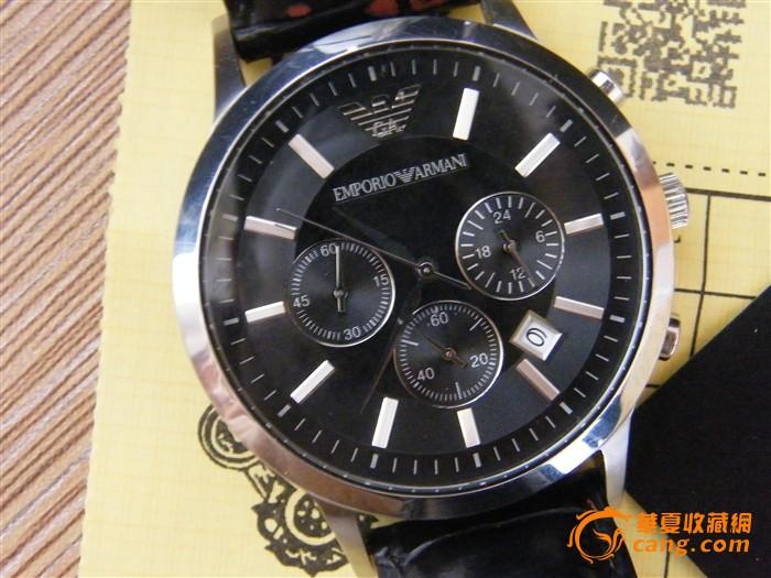 自用阿玛尼手表出售
