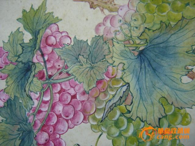 63年·国画工笔小品-------甜葡萄