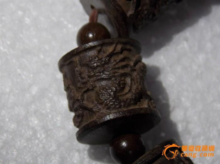 串木雕龙纹桶珠男女士沉水