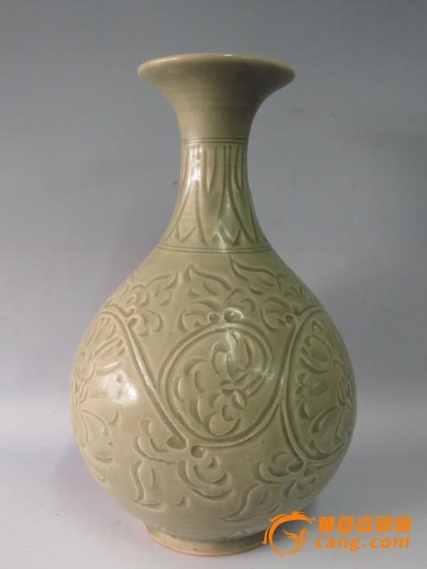 地摊 陶瓷 明清 花纹玉壶春瓶  编号 jy7452362 上传