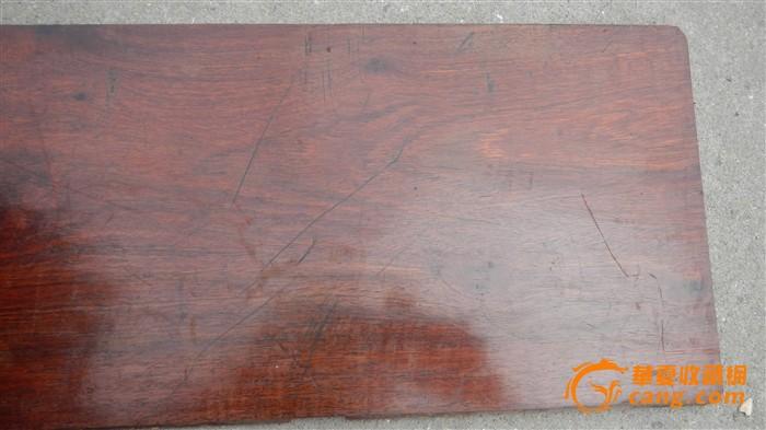 一片特漂亮的花梨木面板a010