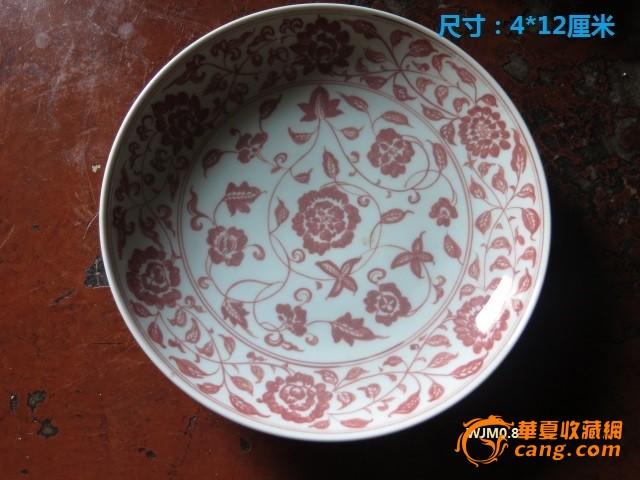 碗和盘子手绘