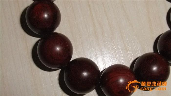 印度小叶紫檀老料手串1.8mm 保真老料