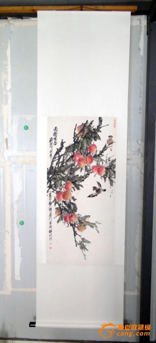 安徽著名老画家【胡志辉】4平尺花鸟图片