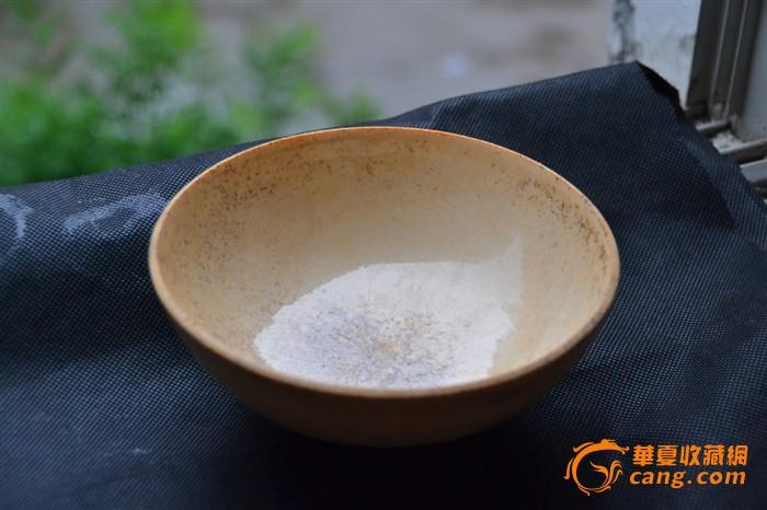 宋代定窑白瓷碗 细碎开片