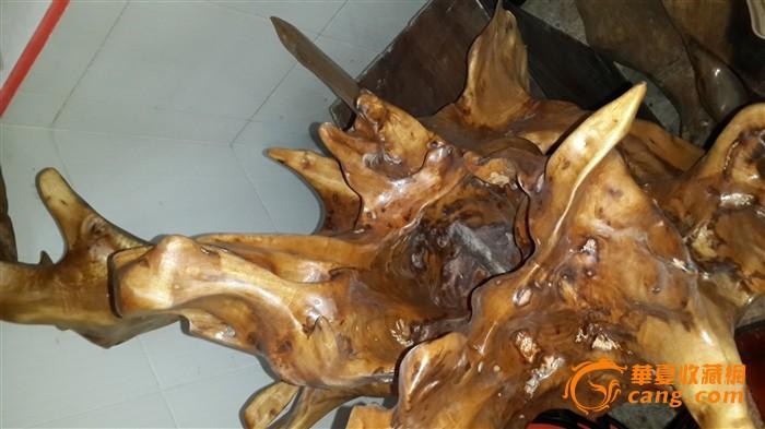 金丝楠木阴沉木天然根艺---飞翔,花纹极美!