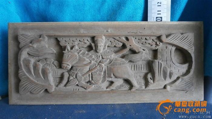 福建木雕,包纯手工雕刻,人物骑马,还有树木房子等