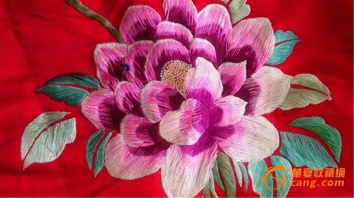 绸缎花制作图解