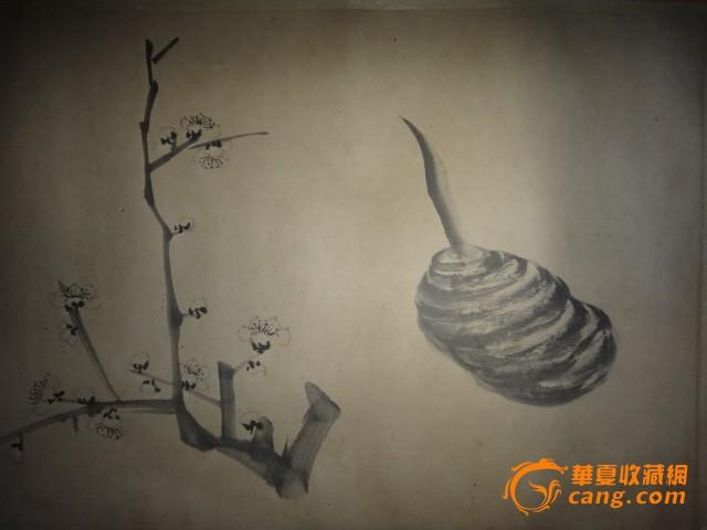 八大山人-花鸟长卷图片