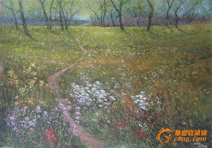 朝鲜油画_朝鲜油画价格_朝鲜油画图片_来自藏友海捞瓷