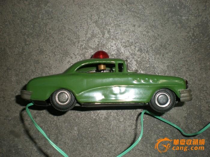 日本古董铁皮玩具 遥控铁皮车