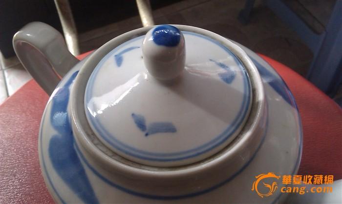 江西景德镇库存手绘青花茶壶