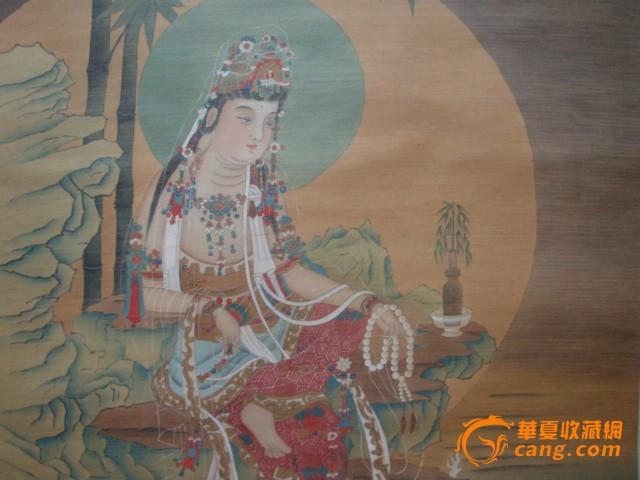 丁云鹏-中堂-观音图3图片