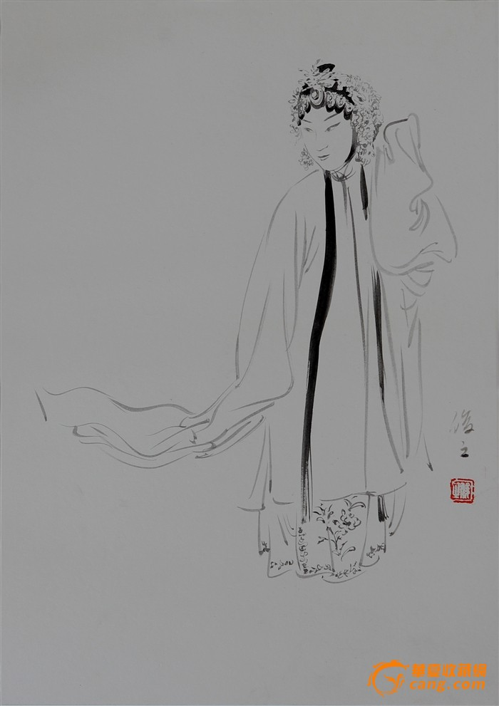 翡翠戒指设计图手稿素描