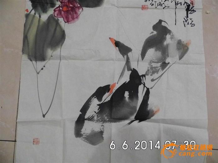 青岛著名画家[于文学]作品,包真
