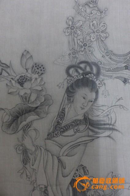 仙女图片简单素描可爱