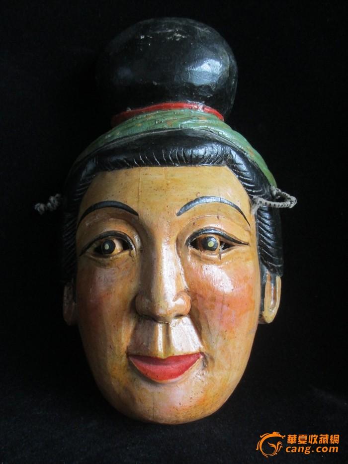 木雕面具3个_木雕面具3个价格